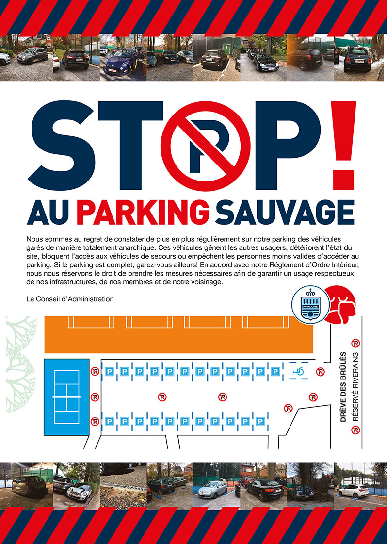 stop parking sauvage